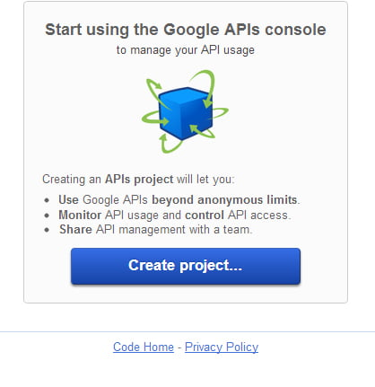 create-API-google
