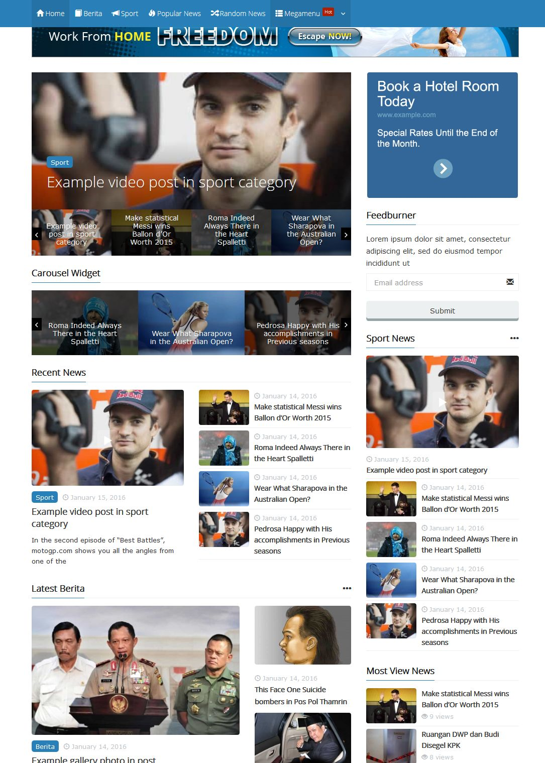 Powermag Powerfull Magazine Wordpress Theme Woocommerce Support