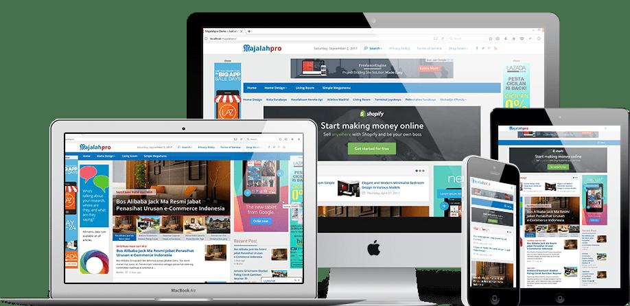 Majalahpro WordPress Theme Untuk Berita